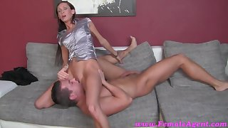 FemaleAgent HD Accidental casting creampie