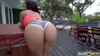 In the best of health Monroes Magnificent Bootie Latina Porn